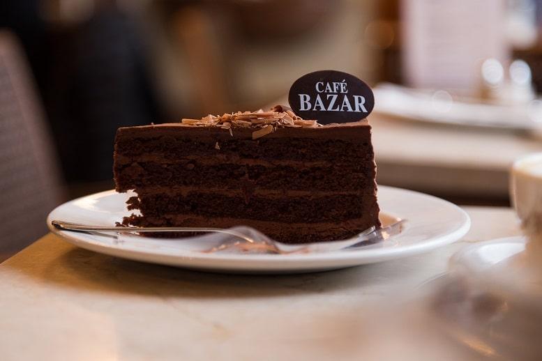 Torte im Café Bazar in Salzburg