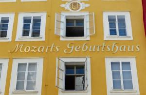 Geburtshaus Mozarts in Salzburg