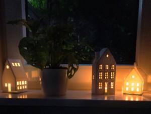 Lichthaus bei Abend tolle Stimmung